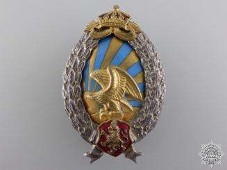A Bulgarian Second War Observer's Badge; German Made