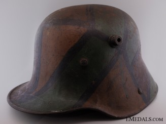 Camouflage Stahlhelm M16; Brought Back by 48th Highlander