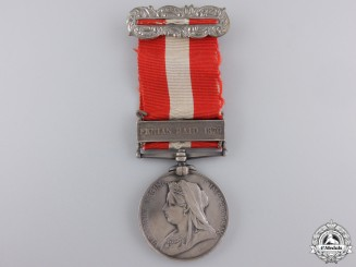 A Canada General Service Medal to the 37th Battalion