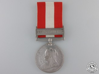 A Canada General Service Medal to the 44th Welland Battalion