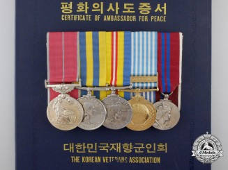 Canada. A British Empire & Korea Campaign Medal Group