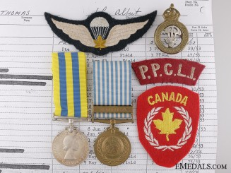 A Korean War Pair to the Princess Patricia's Canadian Light Infantry