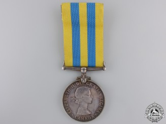 Canada. A Korea Medal to G.C. Robinson