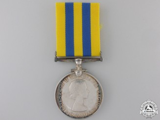 Canada. A Korean War Medal to J. Fortner
