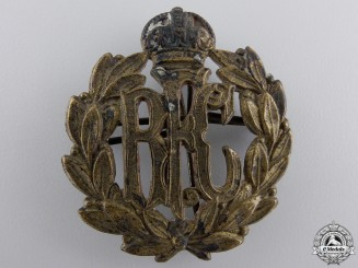 Canada. A First War Royal Flying Corps (RFC) Cap Badge, by Roden bros