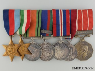 Canada. A Medal Bar to Major L.C. Robson; Royal Winnipeg Rifles
