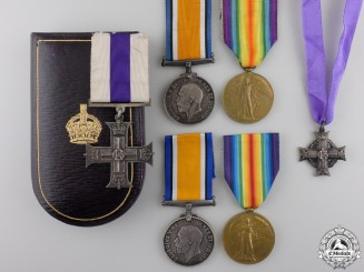 A Canadian Military Cross for Rescuing Wounded in the Field