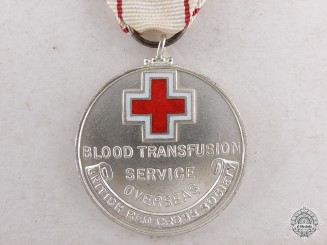 A Canadian Overseas Blood Transfusion Service Award to Mrs.Marchetti