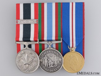 A Canadian Peacekeeping Medal Bar
