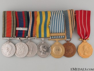 A Canadian Second War & Korea Medal Group