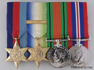 A Canadian Second War Naval Service Medal