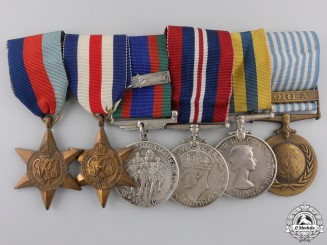 A Canadian Second War & Korean Service Medal Group