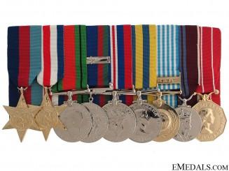 A Canadian WWII & Korean War Group of Nine
