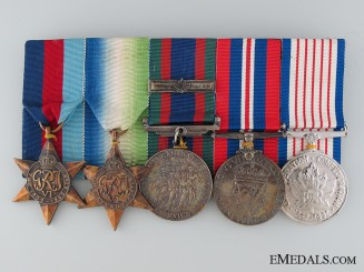 A Canadian WWII Medal Bar