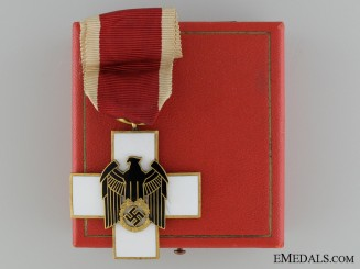 A Cased German Social Welfare Decoration; Third Class