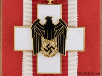 A Cased German Social Welfare Decoration by Godet