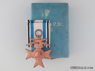 A Cased Military Merit Cross - 3rd Class