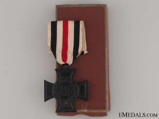 A Cased Non-Combatant Hindenburg Cross