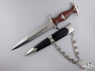 A Chained RZM NSKK Dagger by E. & F. Horster, Solingen