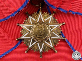 A Chilean Order of Bernardo O'Higgins; Grand Cross