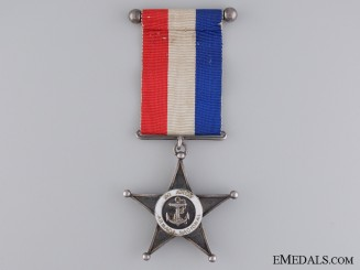 A Chilean Twenty Year Navy Service Star