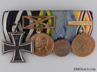 A China Service Germany Imperial Medal Bar