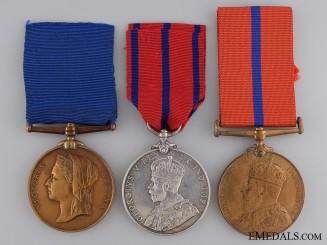 A City of London Police Trio to Constable J. Martin