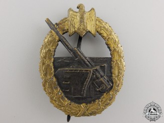 A Coastal Artillery Badge by Schwerin of Berlin
