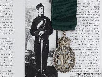 A Colonial Auxiliary Forces Officer's Decoration to the 65 Regiment