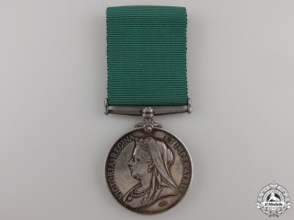 Canada. A Colonial Auxiliary Forces Long Service Medal to the Sault Ste. Marie Co.
