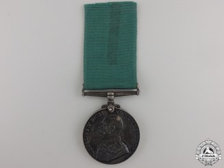 A Colonial Auxiliary Forces Long Service and Good Conduct Medal