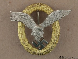 A Combined Pilot's & Observers Badge