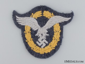 A Combined Pilot & Observer Cloth Badge