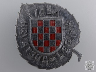 A Croatian Legion in Russia (German Units) Badge