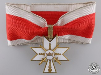 A Croatian Order of the Crown of King Zvonimir; 1st Class Cross