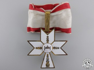 A Croatian Order of King Zvonimir; First Class Cross