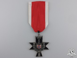 A Croatian Order of Iron Trefoil with Oak Leaves