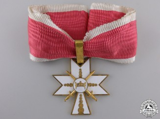 Croatia, Independent State. An Order of King Zvonimir 1941-45, I Class with Swords, c.19141