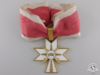 Croatia, Independent State. An Order of King Zvonimir with Swords, I Class, c.1942