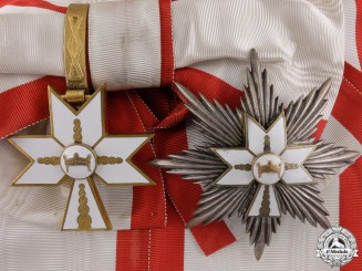 A Croatian Order of King Zvonimir; Grand Cross Set
