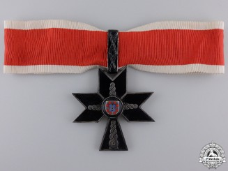 A Croatian Order of Iron Trefoil; First Class