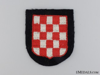 A Croatian SS Volunteer Sleeve Shield