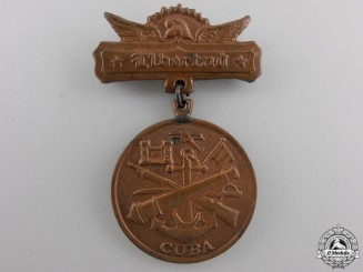 A Cuban Armed Forces Merit Medal