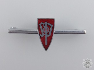 A German/Czech Sudetendeutsche Partei Ladies Badge