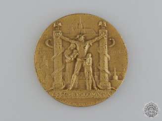 A Czechoslovakian Anti-German Occupation Medal