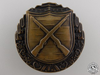 A Czechoslovakian Rifleman's Proficiency Badge