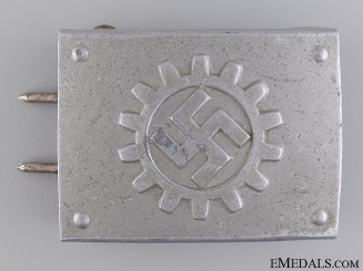 A DAF Belt Buckle by Overhoff & Co., Lüdenscheid