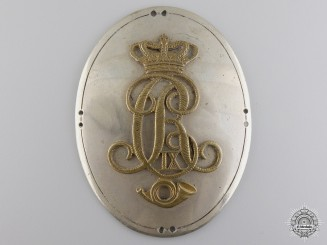A Danish Christian IX Light Infantry Belt Buckle