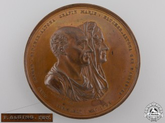 A Danish Golden Anniversary Medal 1794-1844
