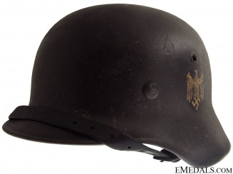 A Double Decal M40 Army Helmet